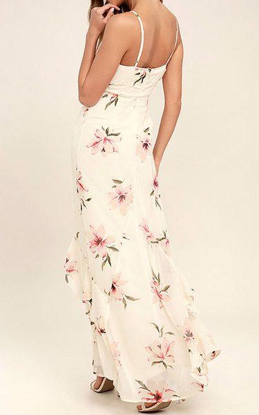 Floral maxi dress ultimate floral maxi dress destination my island ivory floral print halter maxi dress mightylinksfo